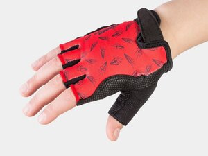 Bontrager Glove Kids Small/Medium (4-6) Red Paper Airplane