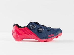 Bontrager Schuh XXX MTB 37 Nautical Navy/Radioactive Pink